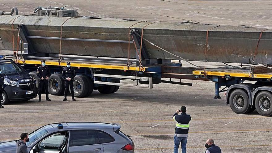 El narcosubmarino surcó el asfalto desde Vigo hasta Ávila