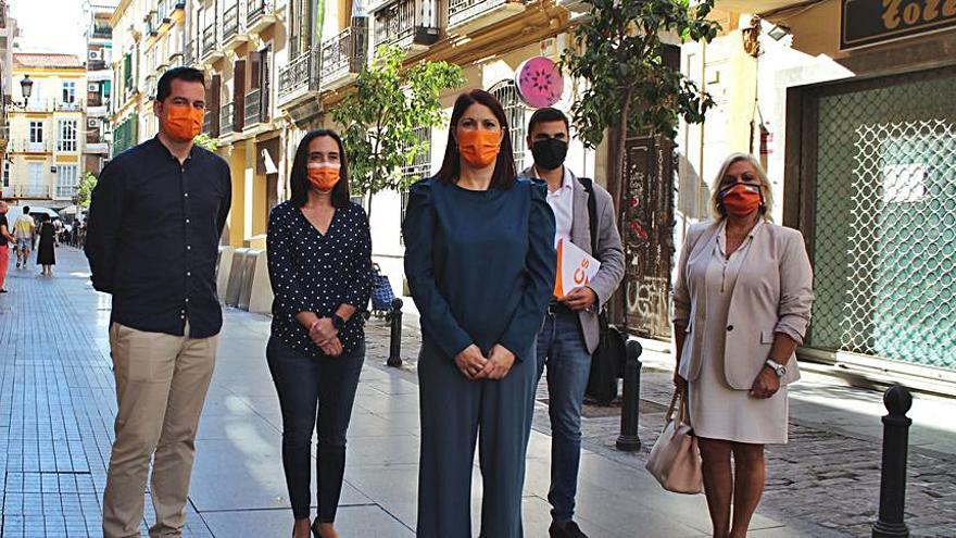 Ciudadanos exige el desalojo de La Invisible para rehabilitarla