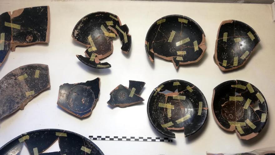 Troben restes d'un gran banquet del segle III aC, a la Llacuna