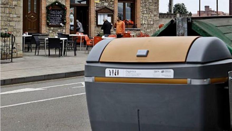 ¿Por qué el contenedor marrón sólo se abre con la Tarjeta Ciudadana?