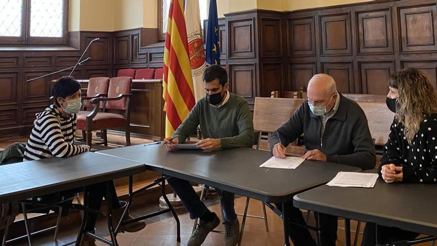 L'Ajuntament de Cardona aporta 2.000 euros a Càritas per pal·liar els efectes de la pandèmia