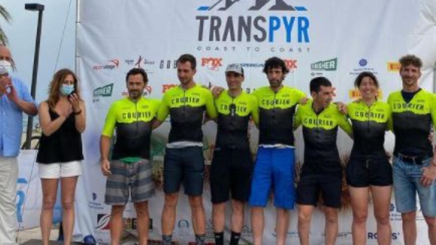 La Transpyr 2021 arriba a Roses en la seva darrera etapa
