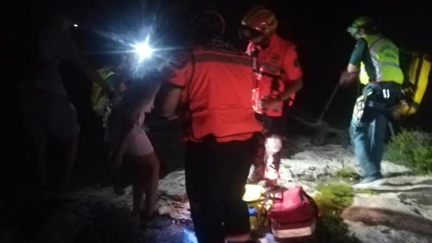 Rescatan a una buceadora que pasó varias horas atrapada en el mar en Cap Blanc