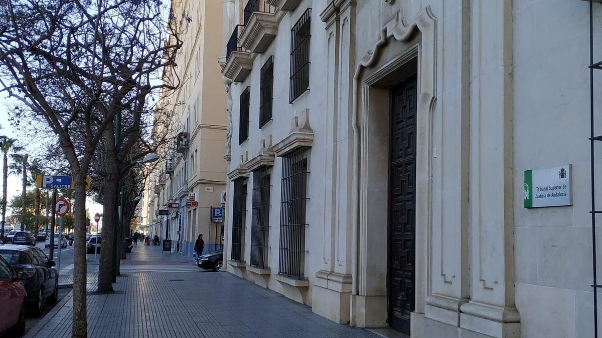 Sede del TSJA en Málaga.