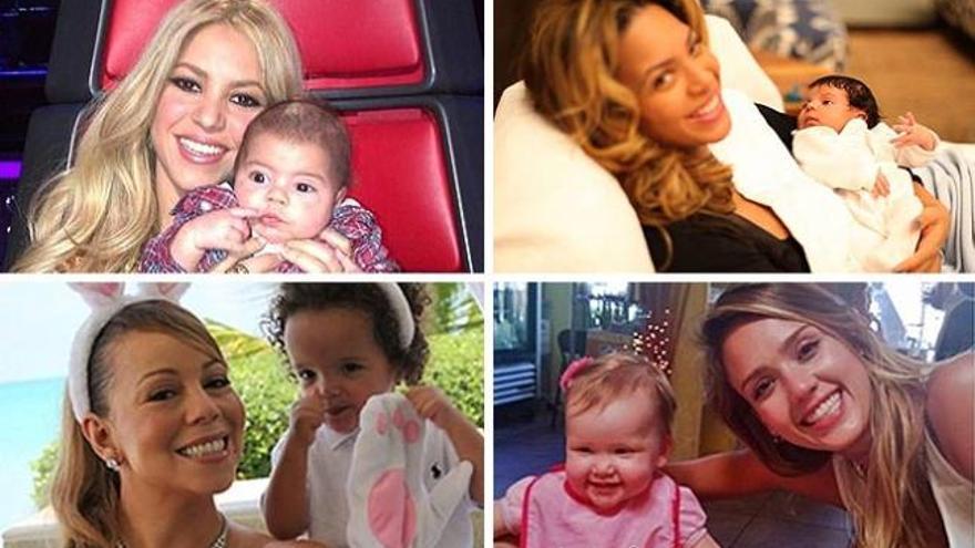 Los hijos más famosos de las 'celebrities'