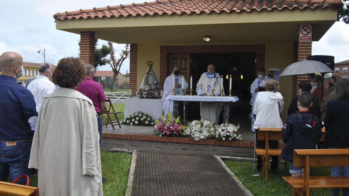 Misa de El Carbayu, el año pasado
