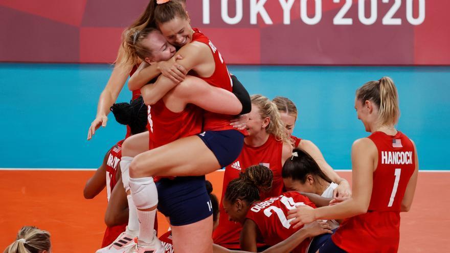 EEUU añade el voleibol femenino a su lista de oros