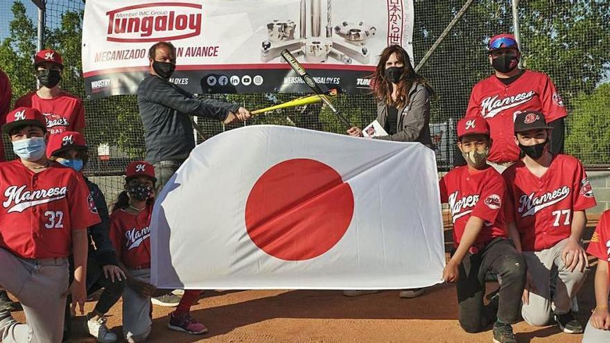 El BC Manresa s'agermana amb el japonès Club Baseball Tungaloy per afermar-se