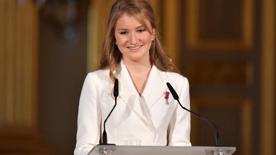 La heredera al trono de Bélgica hace las maletas para estudiar Historia y Política en Oxford