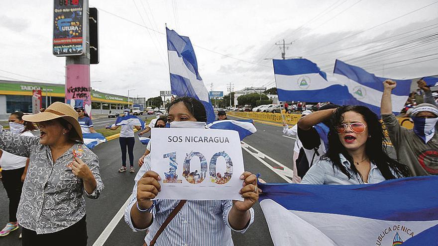 "Tres meses de ""limpieza"" en Nicaragua"