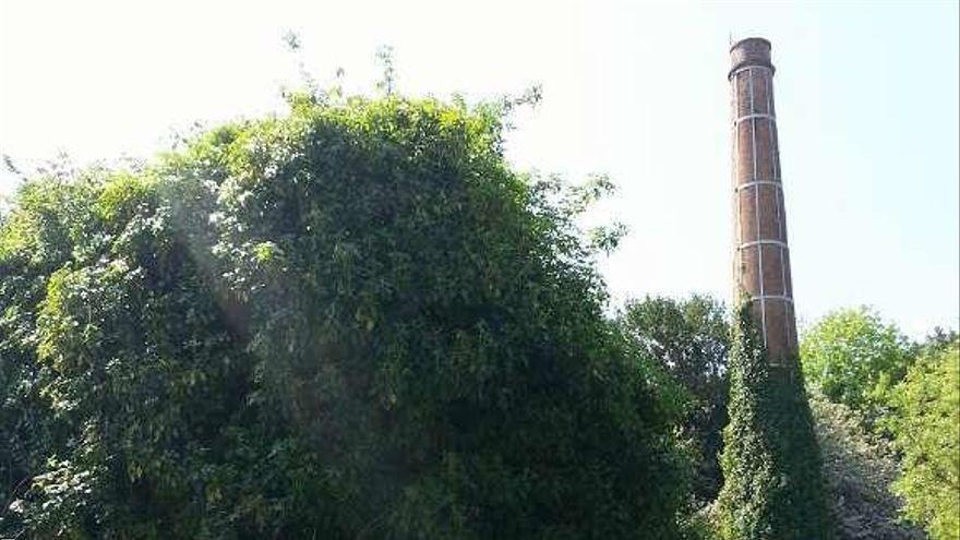 El plan general prevé un parque en A Magdalena que incorpore las ruinas de la fábrica de curtidos