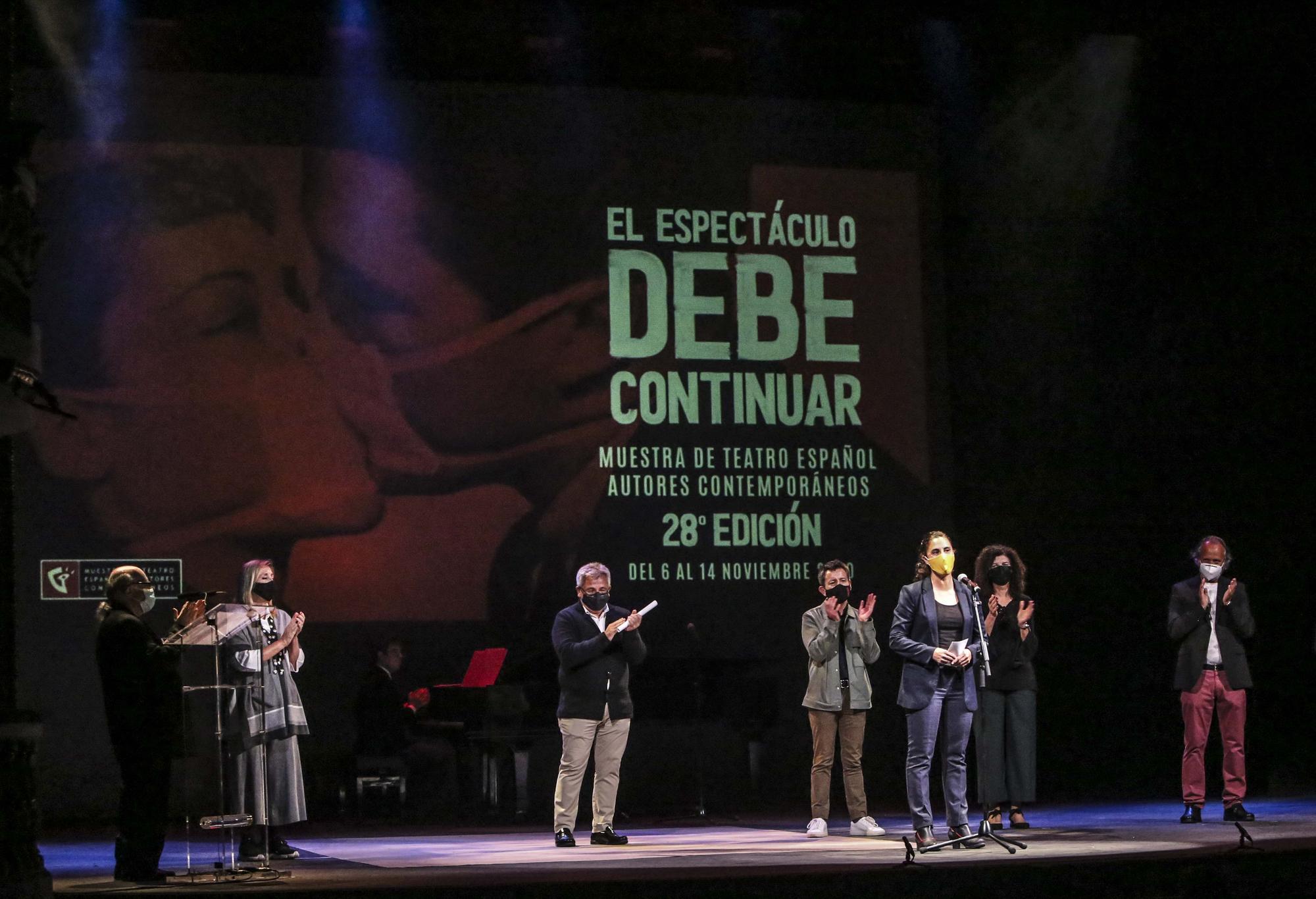 La Muestra de Teatro de Alicante sube a escena a los fallecidos por el covid