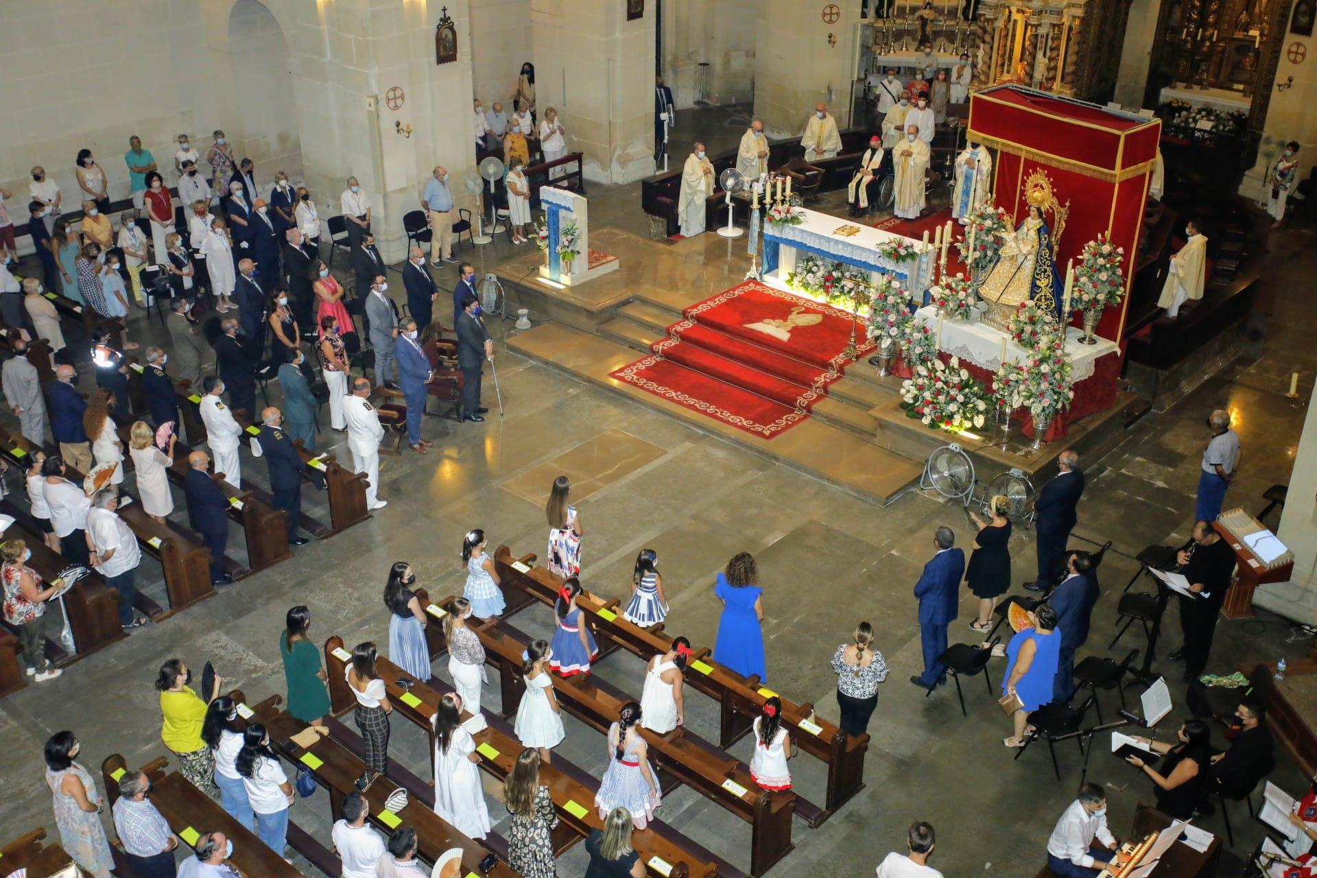 Misa en honor de la Patrona de Alicante