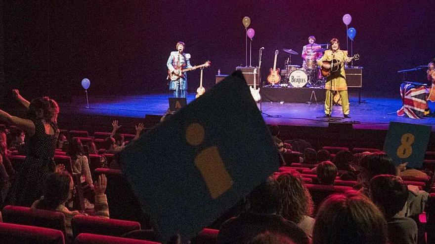 The Beatles reviu al Kursaal amb un concert que fa vibrar els petits