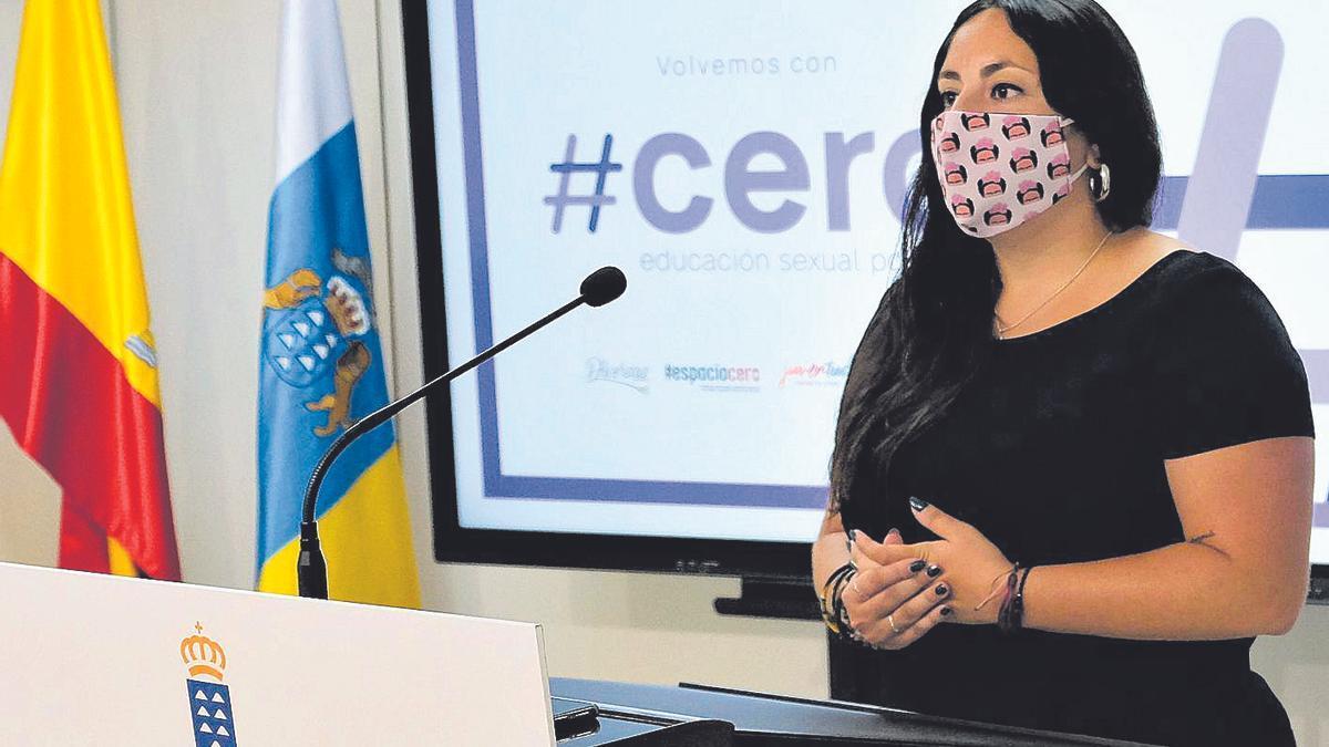 Laura Fuentes, directora general de Juventud del Gobierno canario.