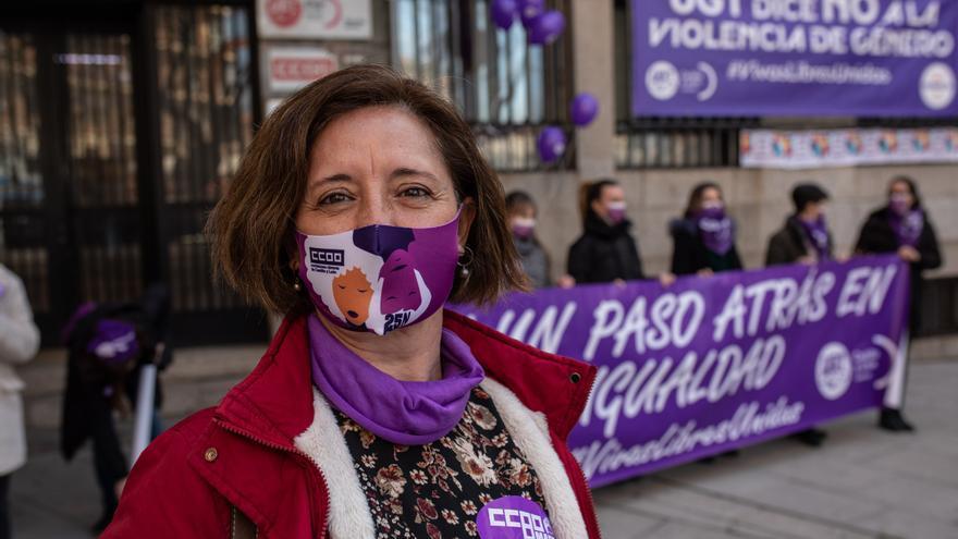GALERÍA | Concentración de los sindicatos por el 8M en Zamora