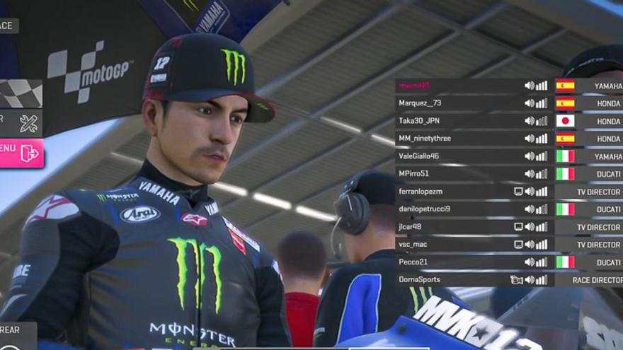 Segona posició per a Maverick Viñales en la MotoGP Virtual Race II