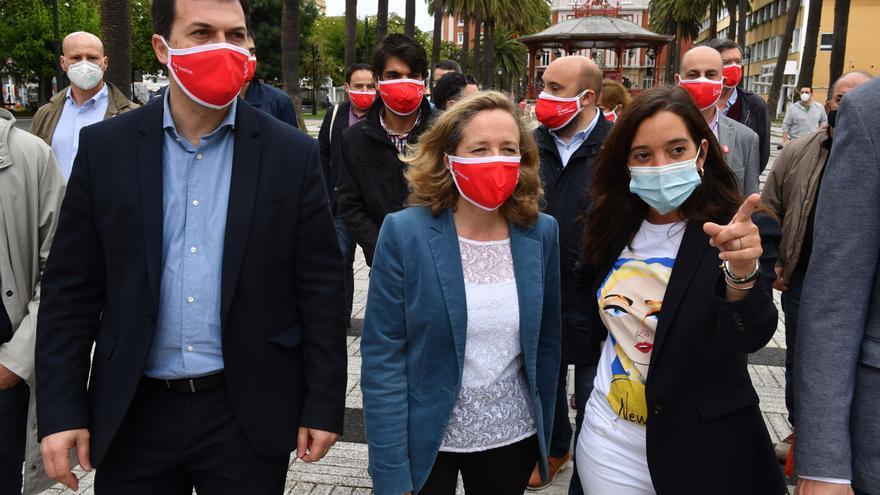 """Caballero, sobre la crisis en el PSOE coruñés: """"Ningún cargo está por encima del partido"""""""