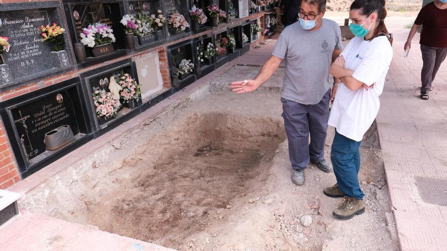 Inician en Monóvar los trabajos para recuperar los cuerpos de los represaliados por la dictadura
