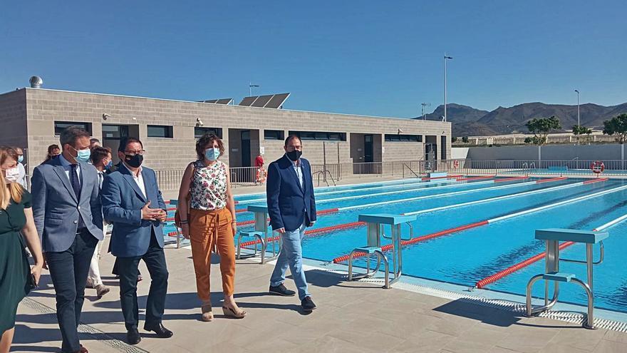 Mazarrón estrena la piscina del centro deportivo La Media Legua