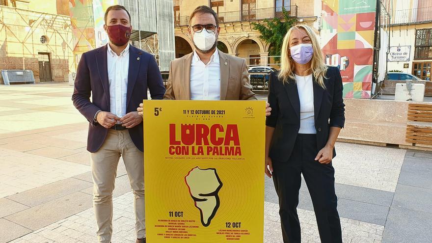 Lorca entregará a los afectados por el volcán de La Palma la recaudación de dos conciertos