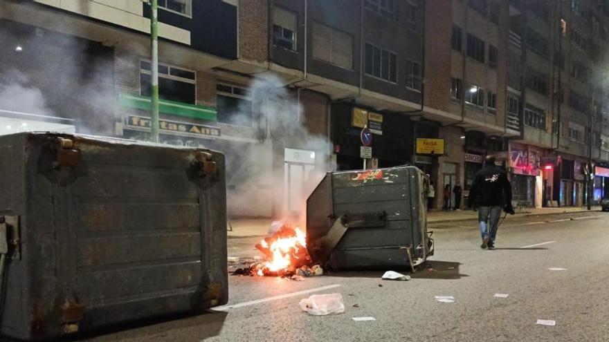 Más de cien contenedores quemados en Burgos