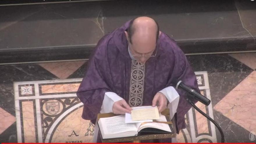 Misa diaria de la catedral por 'streaming'