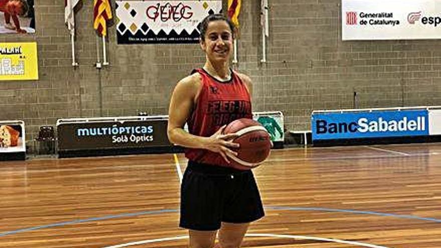 Aïna Gallegos torna al GEiEG per reforçar l'equip de Lliga Femenina 2
