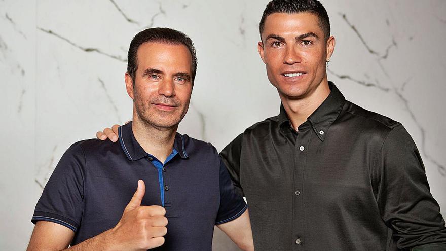 Cristiano Ronaldo abre en Marbella su mayor clínica de trasplante capilar