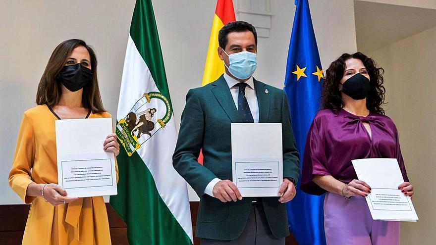 La Junta recibe 450 millones de la UE para políticas sociales