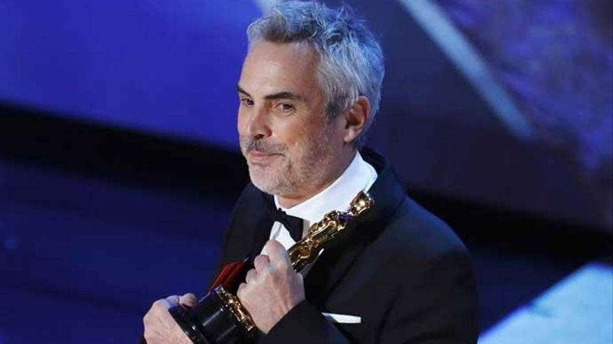 Alfonso Cuarón gana el Oscar a la mejor dirección por 'Roma'