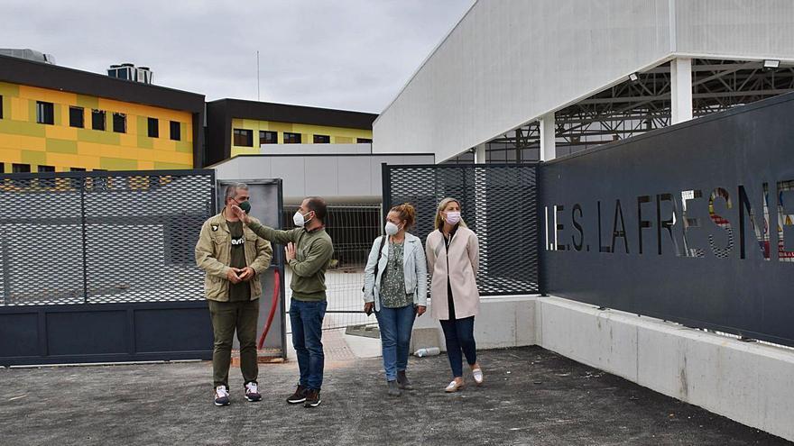 Educación ultima la puesta a punto del IES de La Fresneda con el alta de los suministros