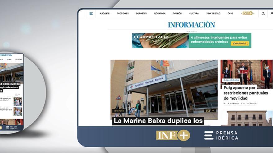 Información estrena nueva web con un diseño más visual e intuitivo