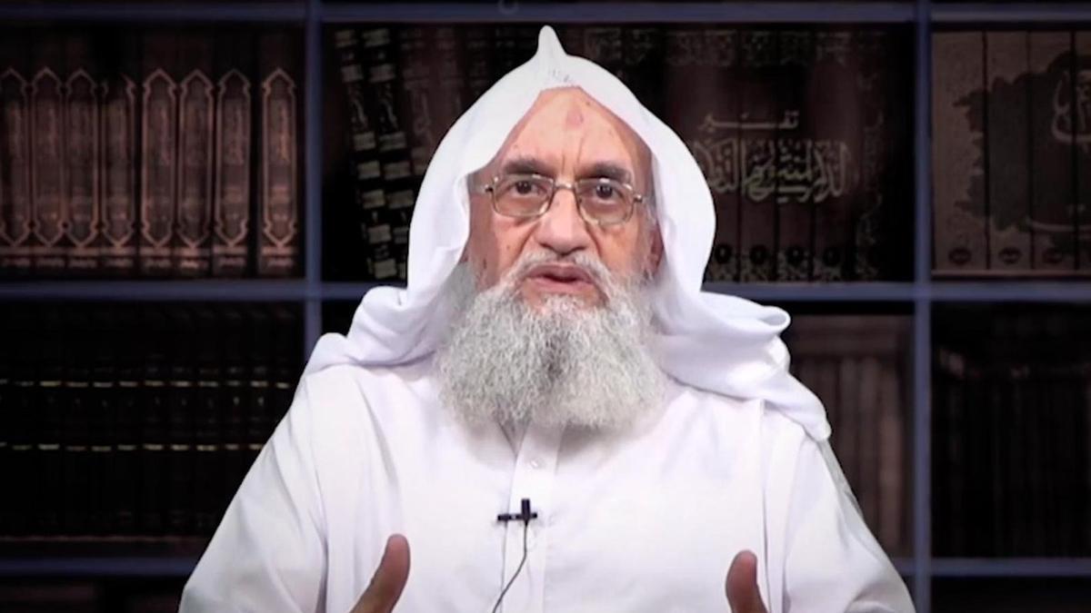Ayman al Zawahiri, líder de Al Qaeda.