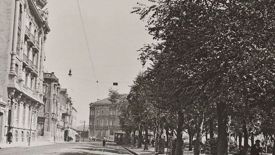El parque del Muelle retrocede al siglo XIX