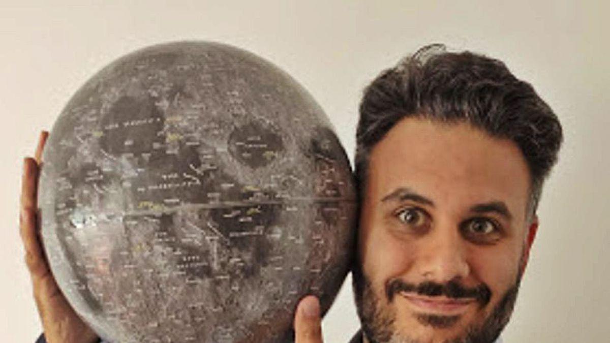El astrónomo y divulgador científico Borja Tosar.