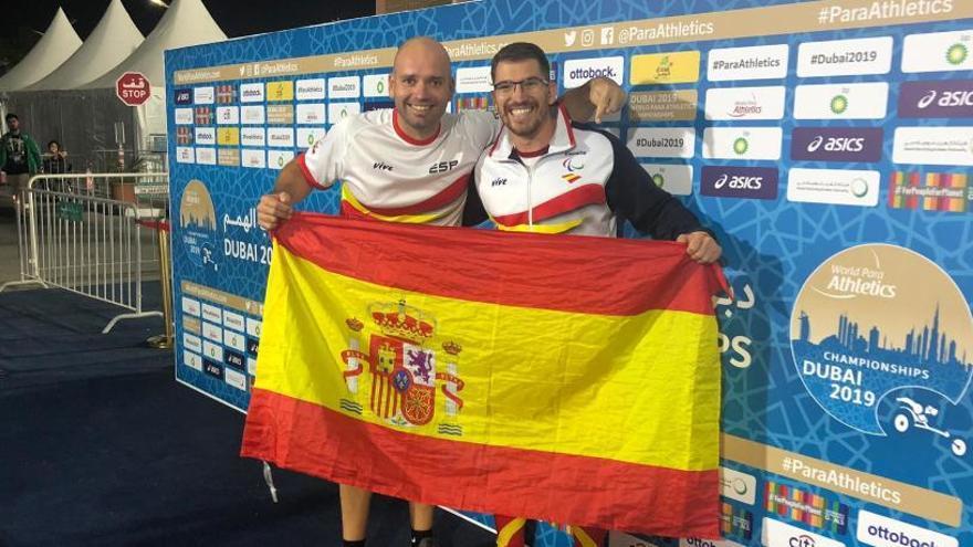 El valenciano Héctor Cabrera, subcampeón del mundo paralímpico de jabalina