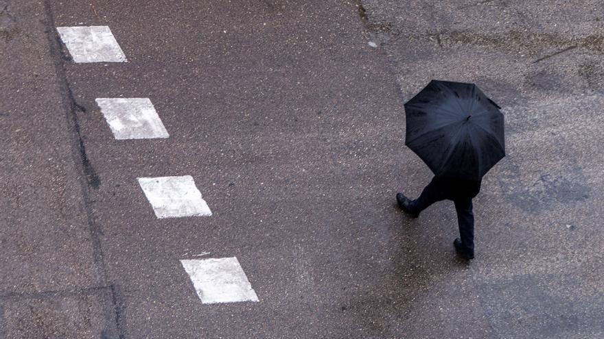 Toda Castilla y León menos Valladolid, en alerta por fuertes lluvias, viento o nevadas