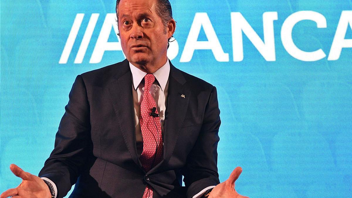 El presidente de Abanca, Juan Carlos Escotet.