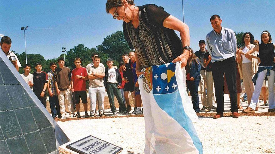 Silleda planteará un homenaje póstumo a Elena Colmeiro en colaboración con el IES
