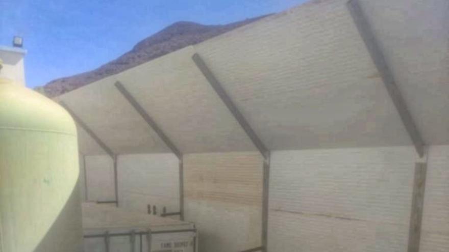 Las mamparas de la potabilizadora de Gran Tarajal evitarán los ruidos en El Aceitún