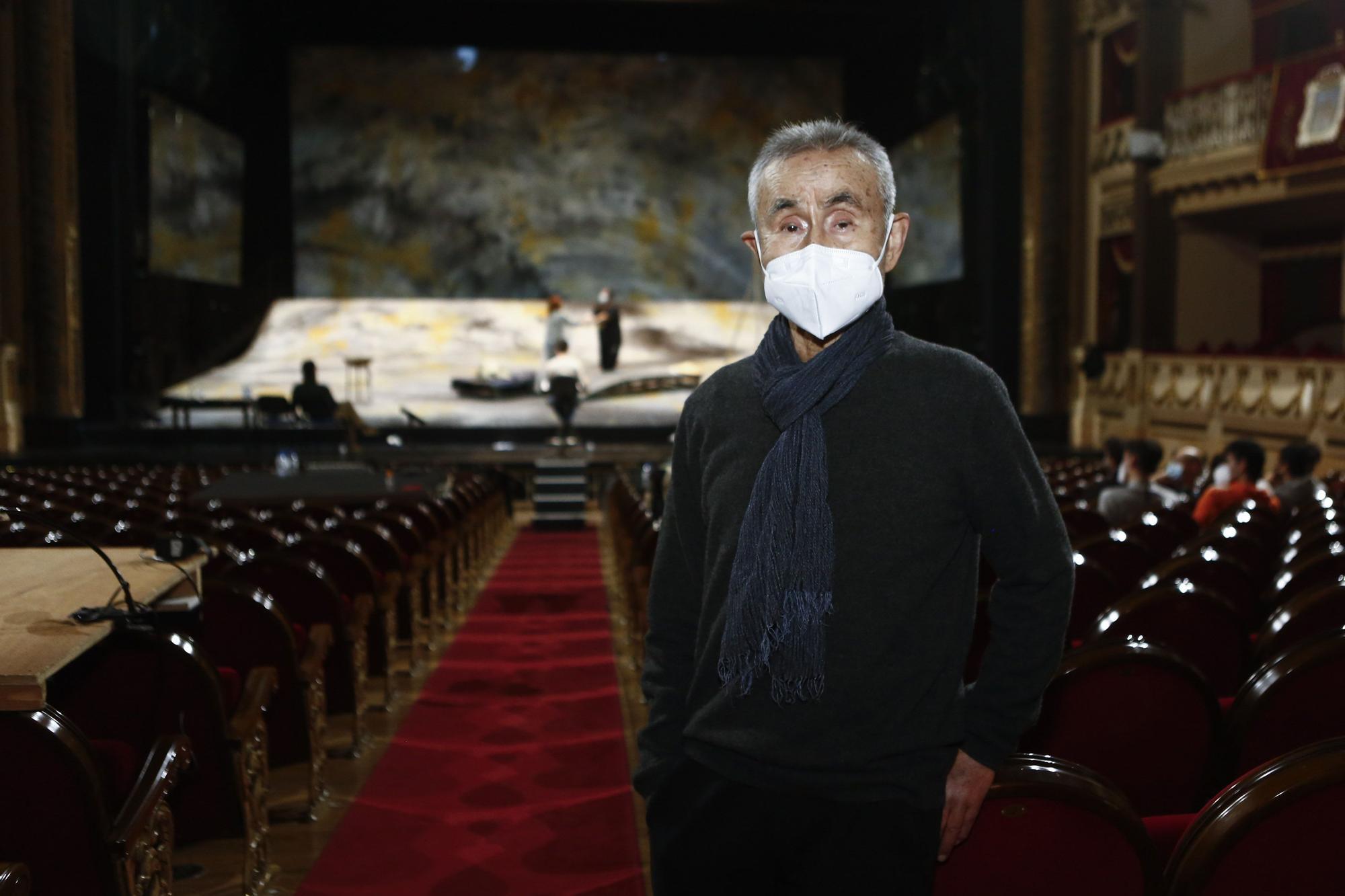 """Montaje de la Ópera """"Los pescadores de Perlas"""" en el Campoamor"""