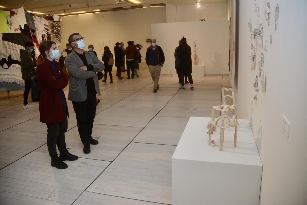 La escultura y la creatividad femenina, ejes de Novos Valores 2020