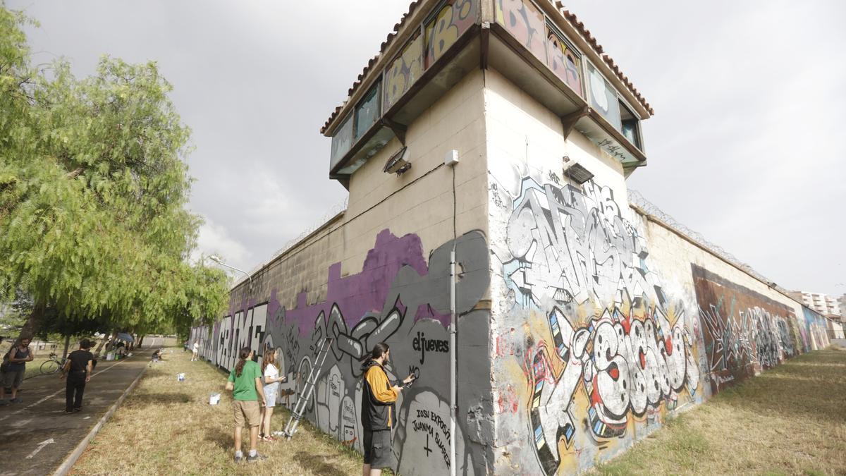 Antigua cárcel de Palma, situada en la carretera de Sóller.