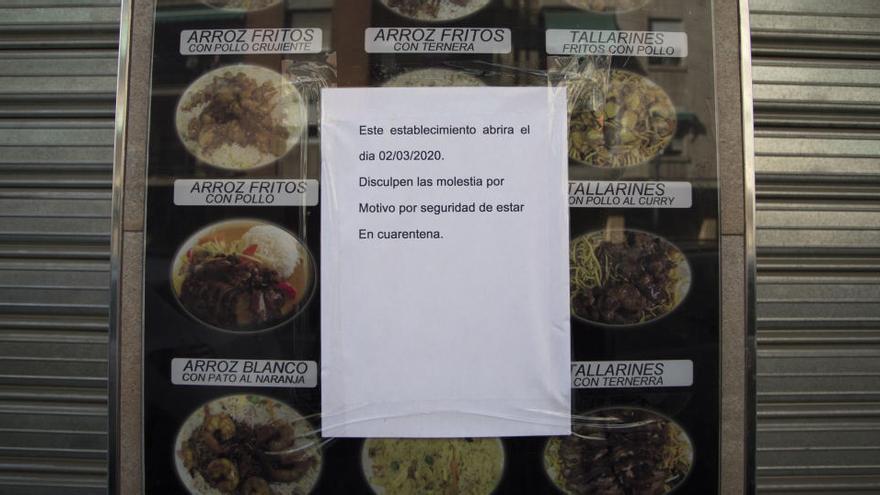 La Policía localiza un bar abierto en pleno día en Monteolivete