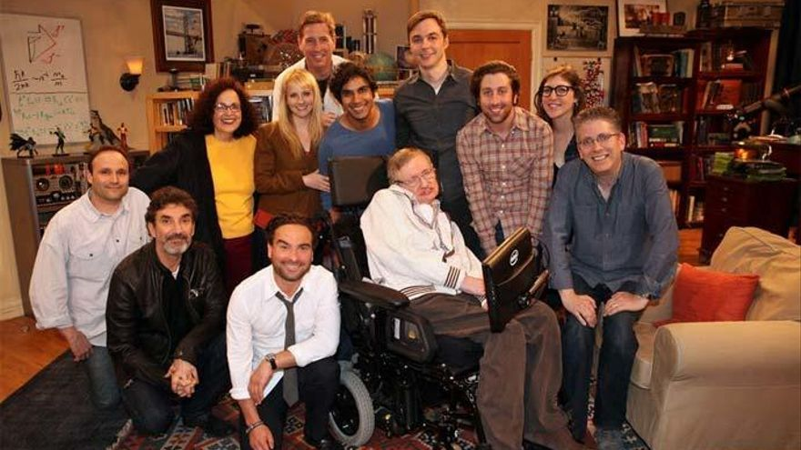 'The Big Bang Theory' despide a Stephen Hawking