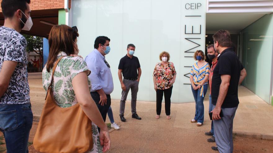 Nules finaliza las obras de mejora en el CEIP Jaume I