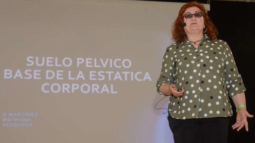 """Benita Martínez: """"El suelo pélvico hay que trabajarlo como otras partes del cuerpo"""""""