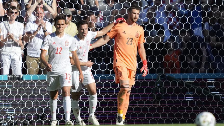 El error de Simón en el gol de Croacia
