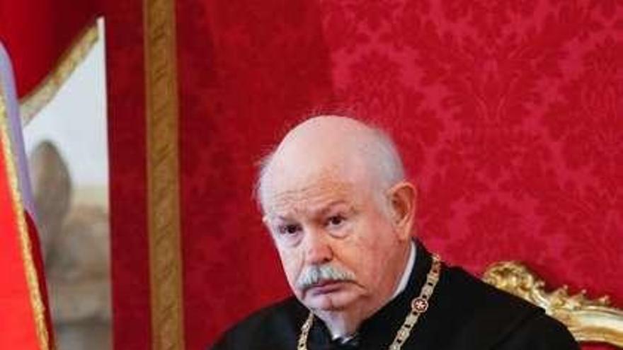 Luto en la Orden de Malta